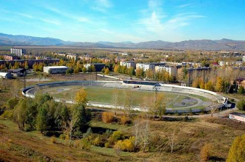 фото риддер город в казахстане